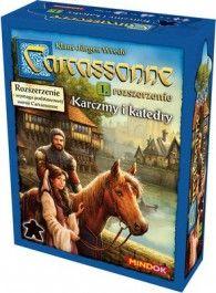 Gra Carcassonne Rozszerzenie 1 Karczmy i Katedry (druga edycja polska)