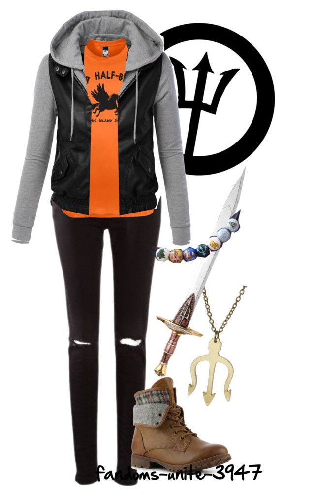 """DIY Halloween Costumes: Percy Jackson"" by fandoms-unite-3947 ❤ liked on Polyvore featuring Rock & Candy"
