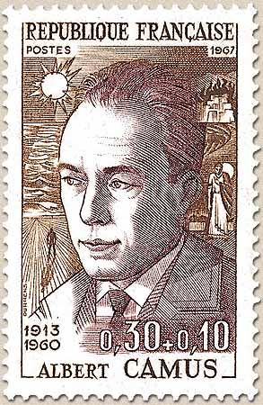Albert Camus  (1913 – 1960) was a French Nobel Prize winning author, journalist, and philosopher. His views contributed to the rise of the philosophy known as absurdism. rnb**