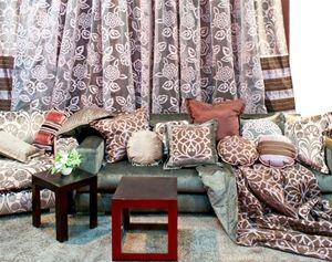 Dekorační látky, bytový textil