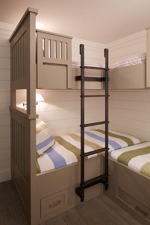 17 best ideas about corner bunk beds on pinterest bunk. Black Bedroom Furniture Sets. Home Design Ideas