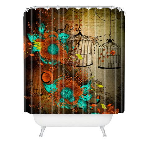 Deny Designs ~  Rusty Lace Shower Curtain