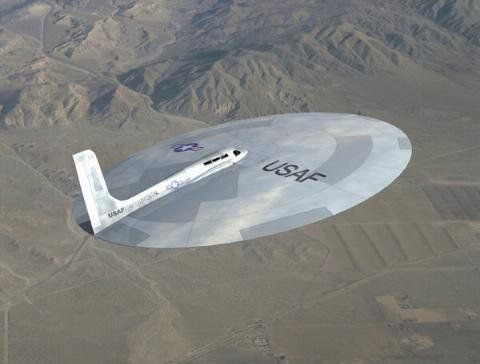 The Lenticular Reentry Vehicle (LRV) - One of the many secret experimental disc-shaped aircrafts developed decades ago for the United States Air Force (USAF)