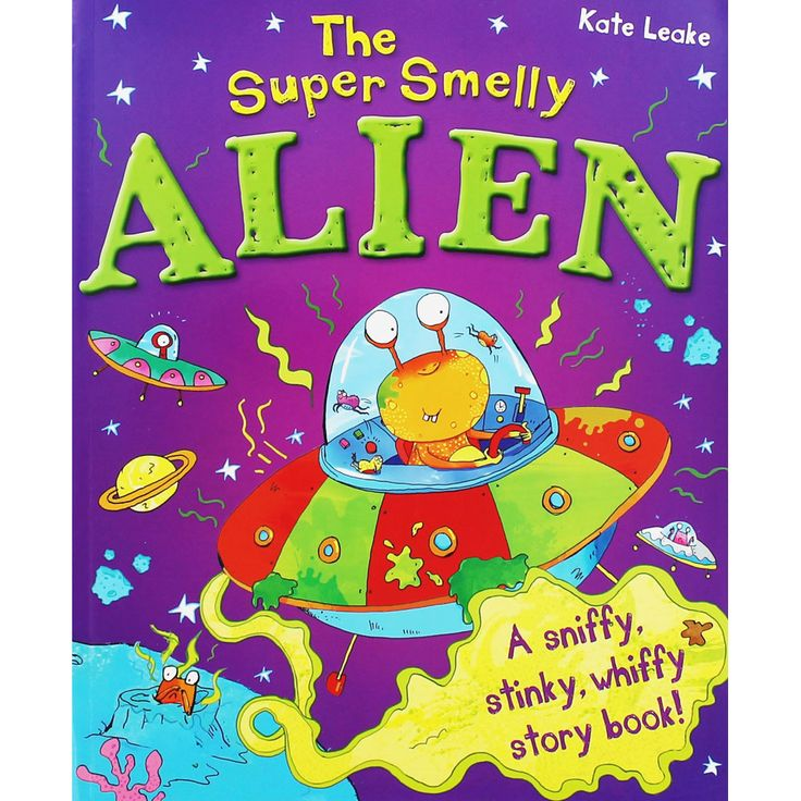 The Super Smelly Alien