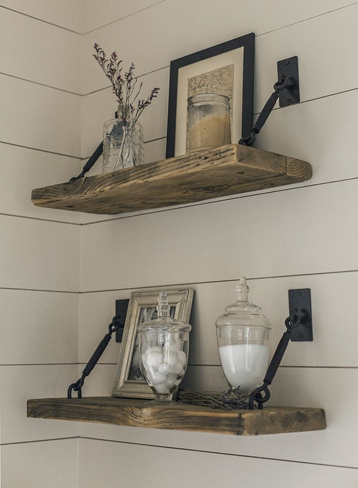 best 25 rustic shelves ideas on pinterest shelving. Black Bedroom Furniture Sets. Home Design Ideas