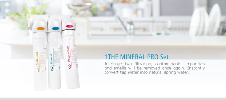Mineral Pro Set – Water Dispenser – 1THE Water Filter System Site