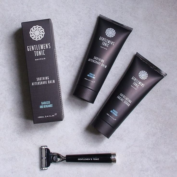 Gentlemen's Tonic for a perfect shave and skin.