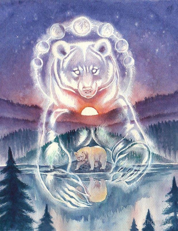 Дух медведя картинки