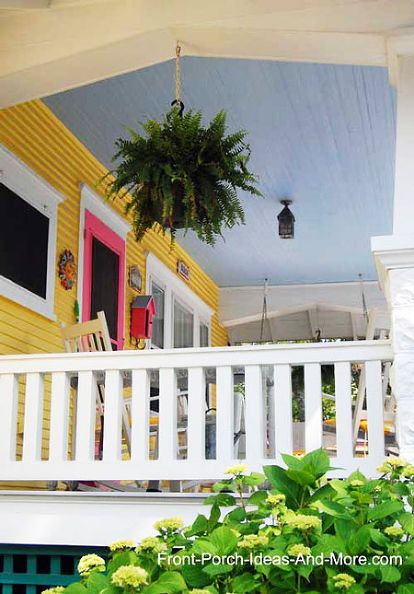 Why Blue Porch Ceilings?
