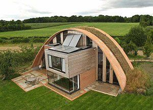 crossway house kent england - architect Richard Hawkes- no heating, passive home.