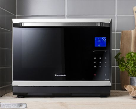Panasonic Combines A Steamer An Inverter Microwave Grill And Oven In One Sleek Compact Countertop Liance This Helps You