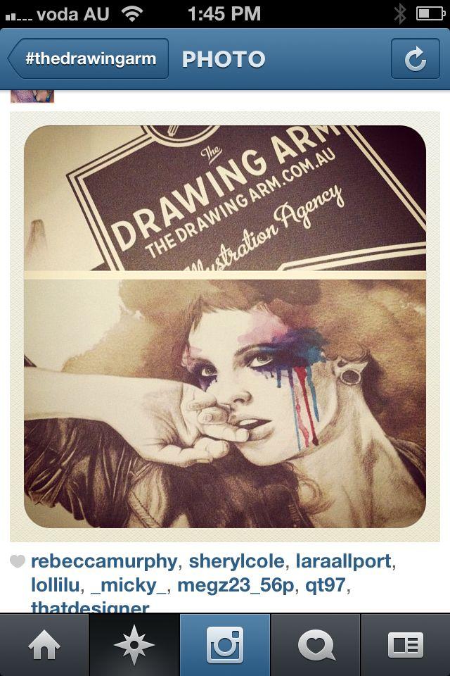 The Drawing Arm!! woop woop!