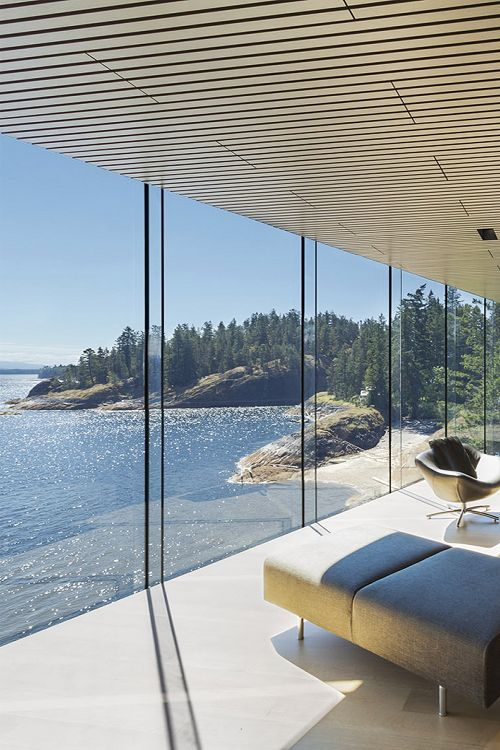 View from the Tula House in British Columbia | Source