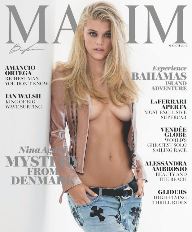 Nina Agdal – Maxim Magazine, March 2017