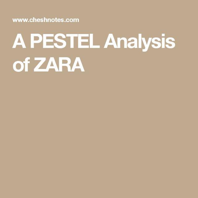 A PESTEL Analysis of ZARA