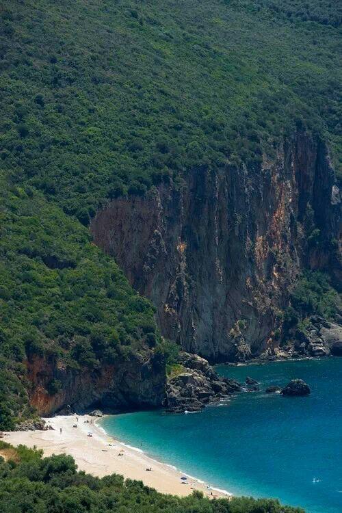 Lychnos beach in Parga, Epirus