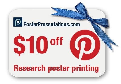 10 best posterpresentations images on pinterest powerpoint click on the coupon to find your discount coupon code from posterpresentations fandeluxe Image collections