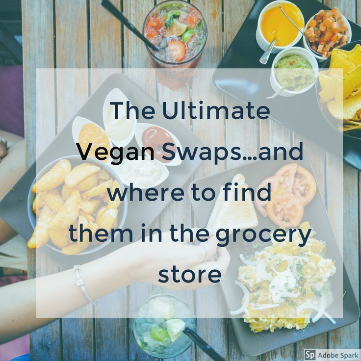 Are you new to vegan life? If so this post is for you! These are my favorite vegan swaps and where to find the ingredients in almost every grocery store
