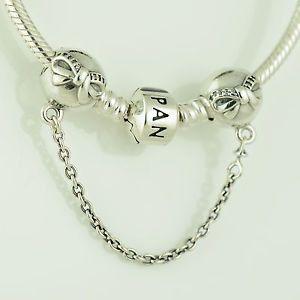 Authentic Pandora Charms Dainty Bow Bracelet Safety Chain #ValentineGiftSet #BangleBracelet #PandoraBangle #PandoraGiftSet #AlwaysInMyHeart #PandoraSafetyChain #PandoraDaintyBow #PandoraValentine #InMyHeart #DaintyBowSafety