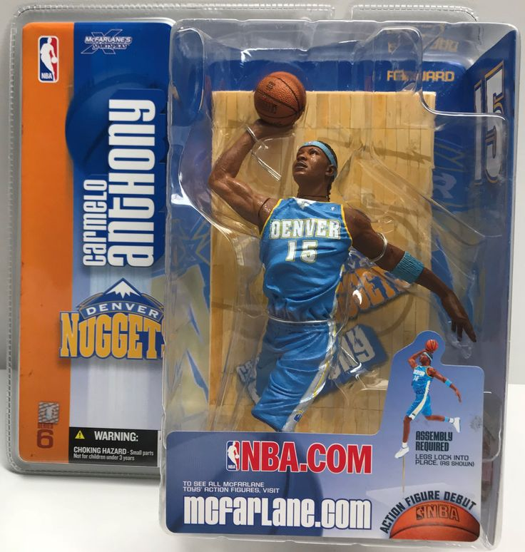 This just in at The Angry Spider Vintage Toy Store: TAS038651 - 2004 ...  Check it out here! http://theangryspider.com/products/tas038651-2004-mcfarlane-toys-nba-carmelo-anthony-series-6?utm_campaign=social_autopilot&utm_source=pin&utm_medium=pin