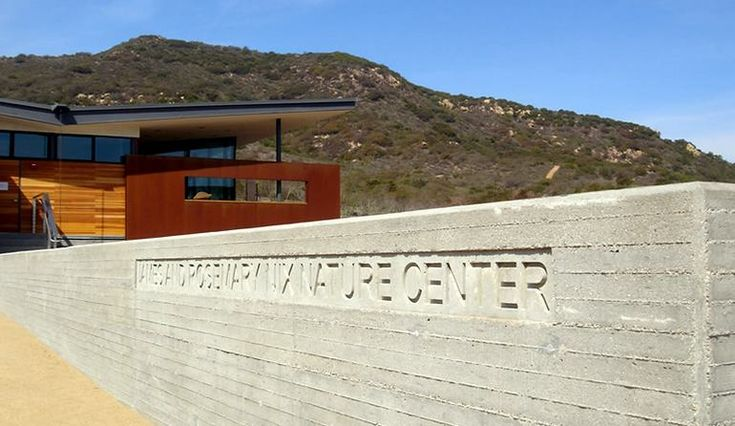 Nix Nature Center is the headquarters for the Laguna Coast Wilderness Park. The Nix Nature Center houses exhibits about the animals