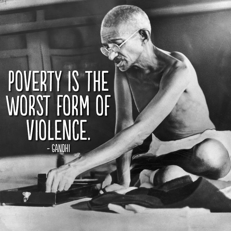 Mahatma Ghandi Uate: Poverty Quotes By Gandhi. QuotesGram