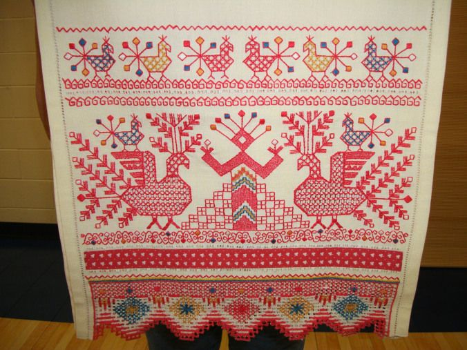"""deergoddess- Goddess Women Cloth : A World Wide Tradition of Making and Using Ritual Textiles"""" and Goddess Embroideries of Eastern Europe"""