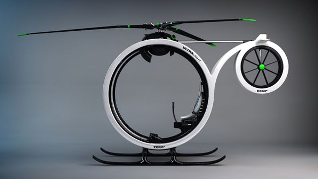 Ultramodern ZERO Personal Helicopter More at http://atechpoint.com/ #tech #atechpoint