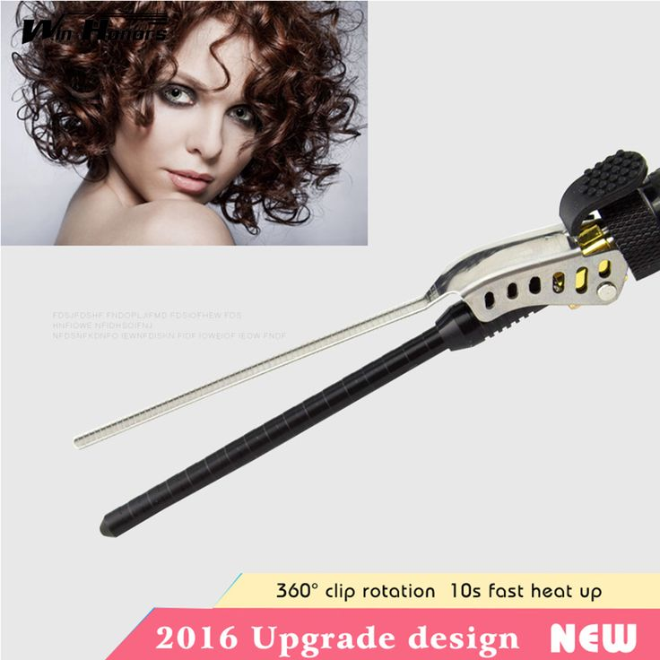 9-15mm Deep Curly Hair Styler Curls Ceramic Curling Iron Fashion Wand Curler Pear Hair Curlers Rollers Good Items Curling Wand