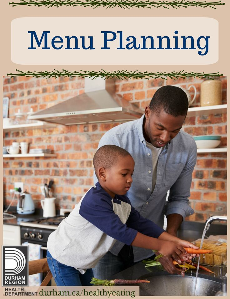 Menu planning does not have to take a lot of time. Do it once or twice a week when you write out your shopping list. The more you plan, the easier it gets. When you plan meals they can help you eat healthier, save you time and money and get your meals on the table faster and with less stress. Take a look for more information!
