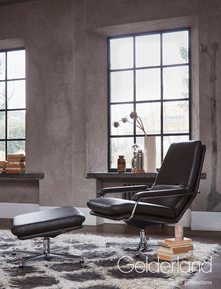 Gelderland fauteuil 400 Retro by Jan des Bouvrie #gelderland #dutchdesign #interieur #jandesbouvrie