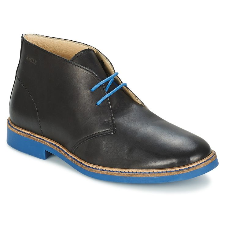 Boots Aigle DIXON MID 3 Noir - Livraison Gratuite avec Spartoo.com ! - Chaussures Homme 139,00 €