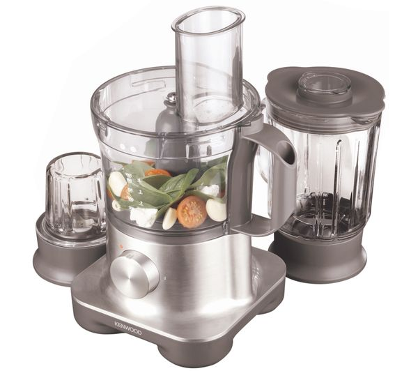 Buy KENWOOD FPM260 Multipro Food Processor - Silver   Free Delivery   Currys