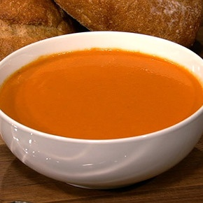 Michael Symon's Spicy Tomato And Blue Cheese Soup recipe. #thechew