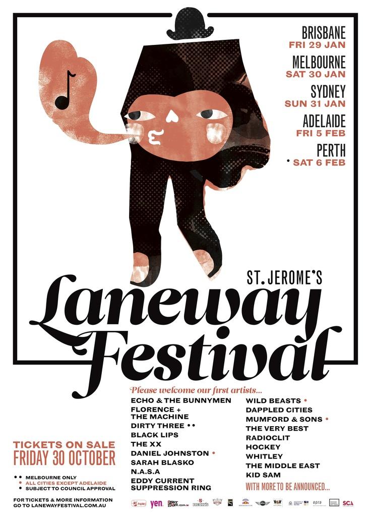 Laneway Festival - 2010