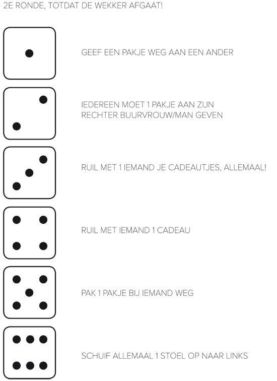 Sinterklaas dobbelspel spelregels: dobbelen maar! | vtwonen blog
