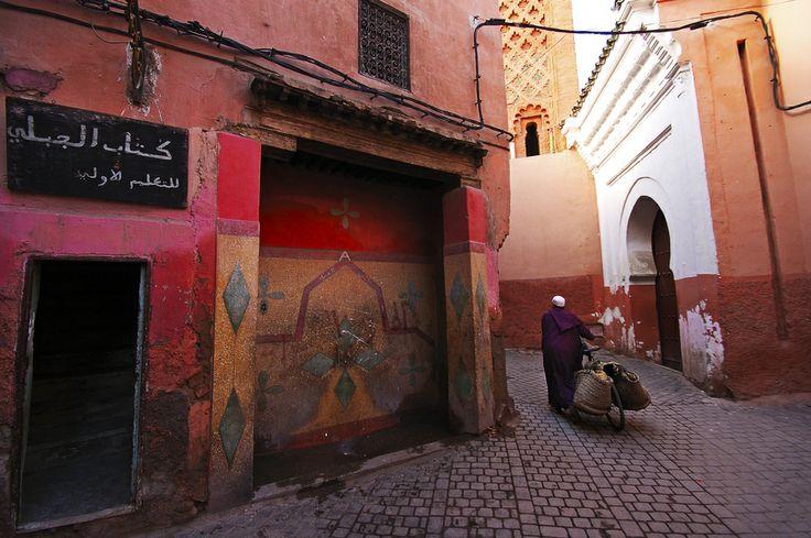 Σοκάκια στο Μαρακές, Μαρόκο