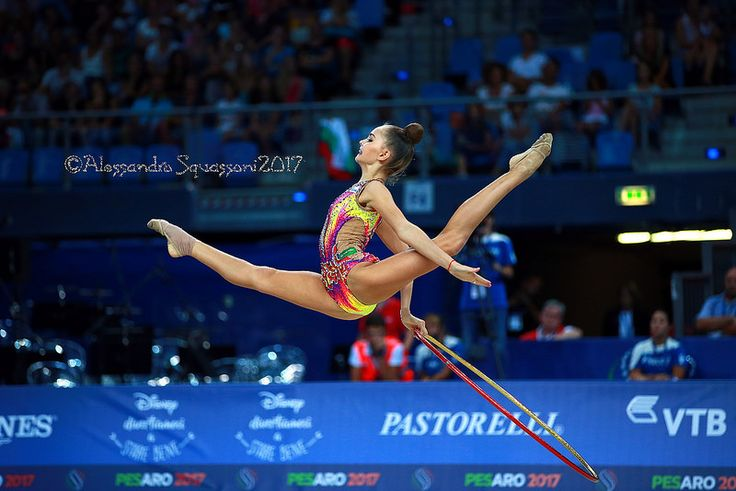 Arina Averina (RUS) | 35th FIG Rhythmic Gymnastics World Cha… | Alessandro Squassoni | Flickr
