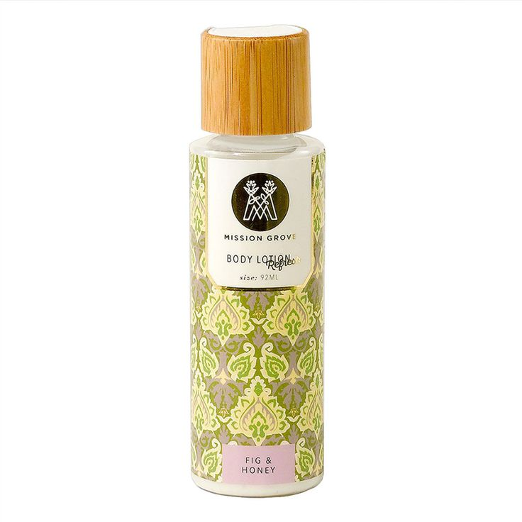 Fig + Honey Body Lotion by SOAP + PAPER FACTORY - Notes: Green Fig, Citrus & Cyclamen. A heady combination of sweet, green and earthy tones to refresh the body and clear the mind. This gorgeous travel-sized lotion is packed with the world's finest oils to leave your skin silky smooth & lightly fragranced. Free from parabens, petrochemicals & phthalates, your beautiful skin will thank you every day!