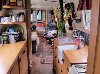 About the boat - Narrowboat Bewick