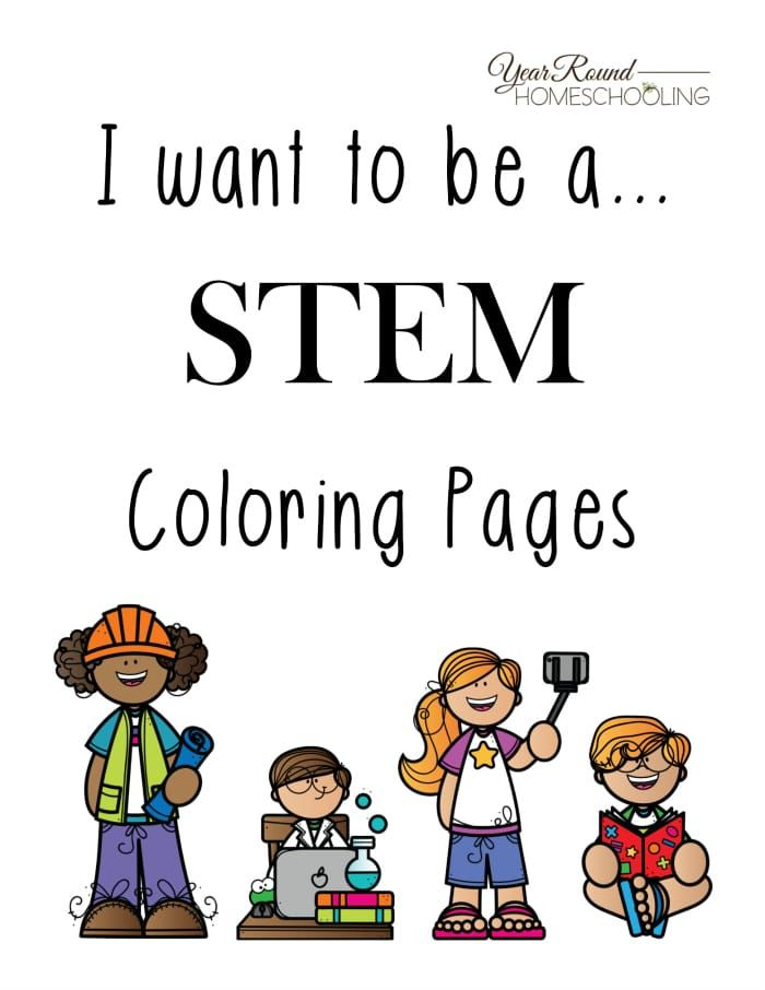 Free Stem Coloring Pages Kindergarten Stem Coloring Pages