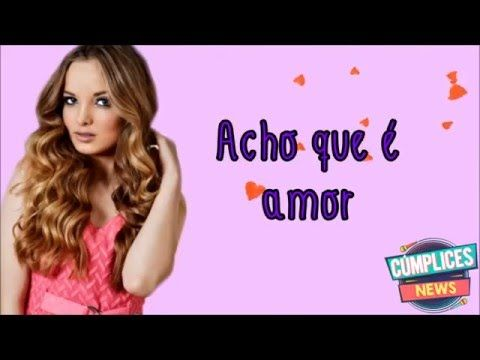 Acho Que É Amor (Letra) Giovanna Chaves