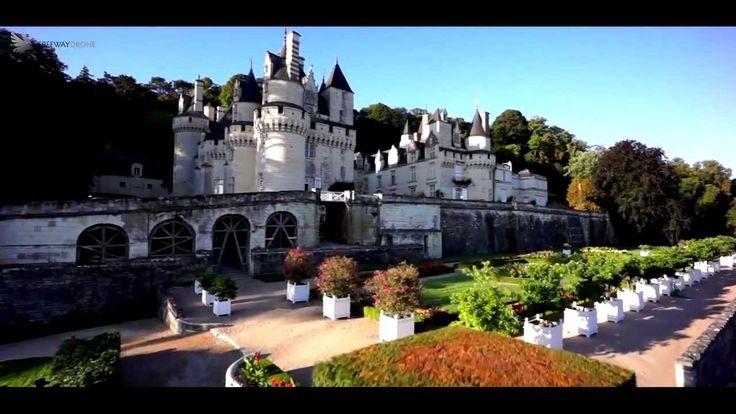 Vues aériennes du Château d'Ussé