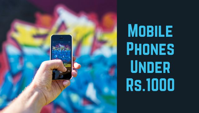 Here are best mobiles under 1000. Are you willing to buy a mobile phone under 1000? If yes, just read this post on these budget mobiles.