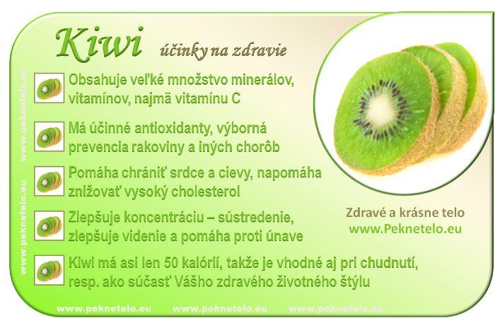 Kiwi - kivi infoobrázok