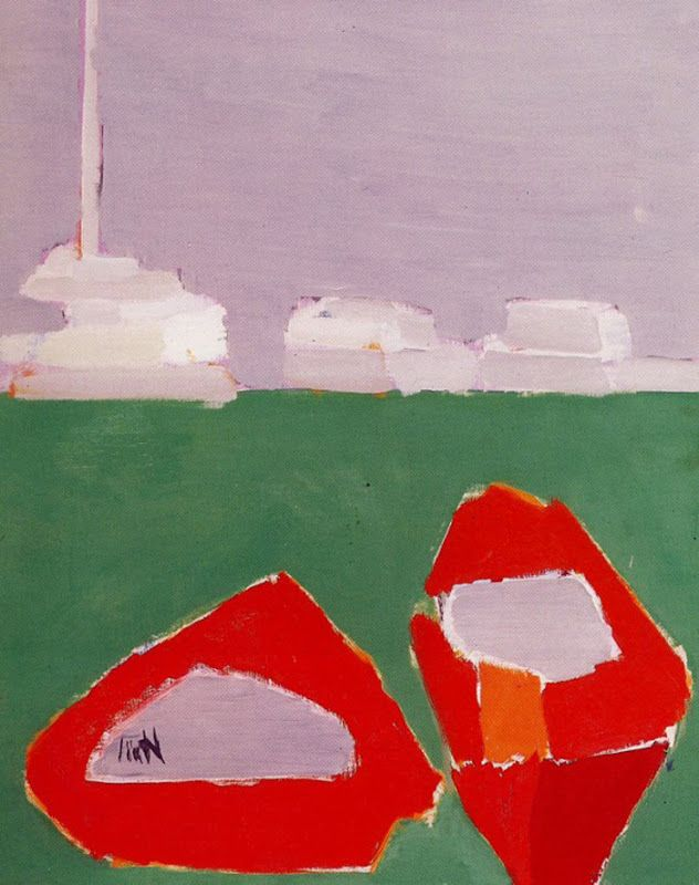 Nicolas de Stael (for some reason it makes me think of chickens and that makes me happy!)