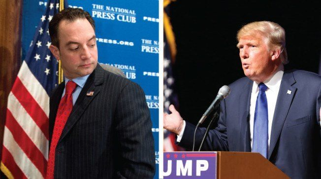 In an unprecedented move, Republican National Committee chairman Reince Priebus says he will not give the Trump campaign control over ...