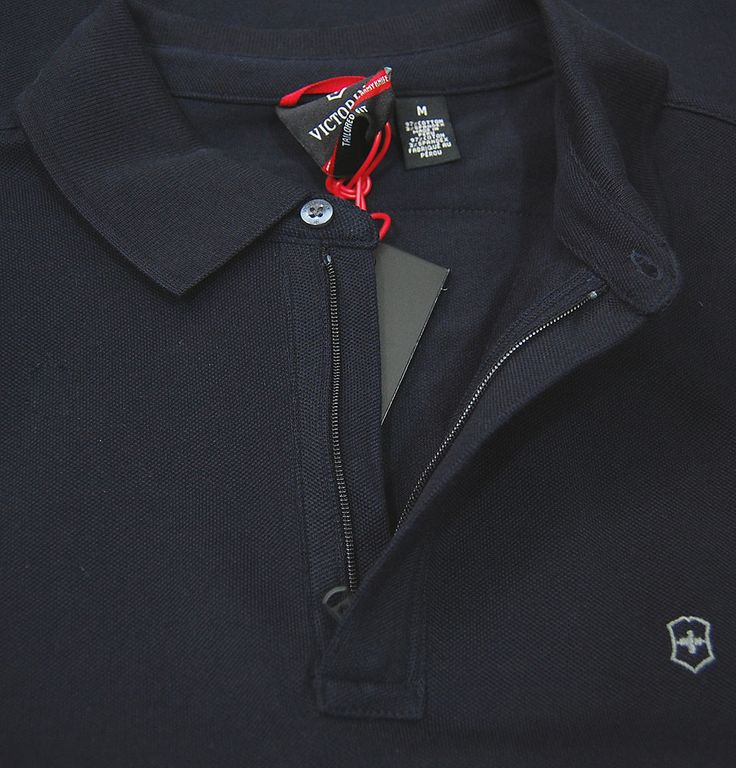 The Victorinox L/S Movement Polo is a tailored fit long sleeve polo shirt from the new autumn/winter collection. The polo is a versatile item featuring a flat knit collar, a hidden zip closure to the front and the Victorinox logo embroidered to the left chest. Finished in a Dark Navy wash this lightweight polo is perfect for those autumn nights when they become a little cooler! http://www.itsinyourjeans.co.uk/top-brands-1003/victorinox-clothing/ls-movement-polo-dark-navy.html