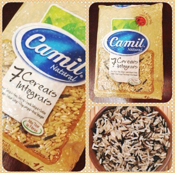A#Camillançou o arroz 7 cereais integrais. O pacote é embalado a vácuo para garantir a qualidade e durabilidade dos grãos e é vendido em embalagem com 1 kg. Entre os cereais estão: Arroz integral…