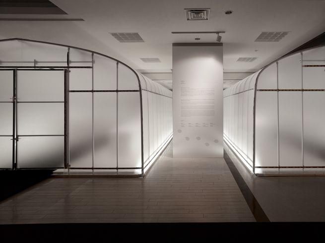 International_KOGEI_Triennale / 農業用ビニールハウスを 展示室に転用した展覧会場